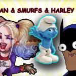 Batman Şirinler'i kurtarıyor, Harley Quinn ve Şaçmor Savaşı: Batman, Harley Quinn, Şirinler ve Şaçmor Maceraları